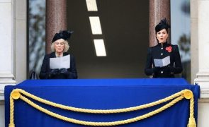 Família Real Britânica Reunida pela primeira vez desde o ínicio da pandemia para celebrar o Dia do Armistício