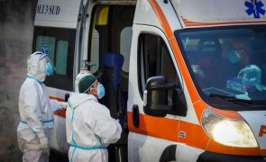 Covid-19: Itália supera milhão de casos e com mais 623 mortos nas últimas 24 horas