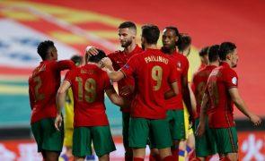Portugal vence Andorra em jogo-treino no Estádio da Luz [veja os golos]