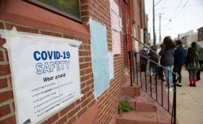 Covid-19: Estados Unidos com 140 mil casos em 24 horas