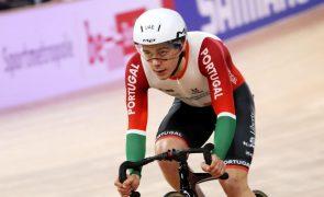 Iuri Leitão campeão da Europa de scratch nos Europeus de ciclismo de pista