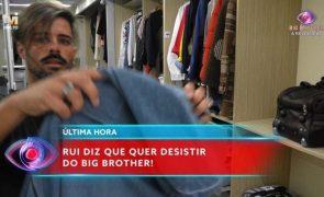 Big Brother Antes de sair do programa, Rui Pedro acusa produção: