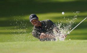 Masters: Tiger Woods cumpre volta sem 'bogeys' em 'majors' 106 voltas depois