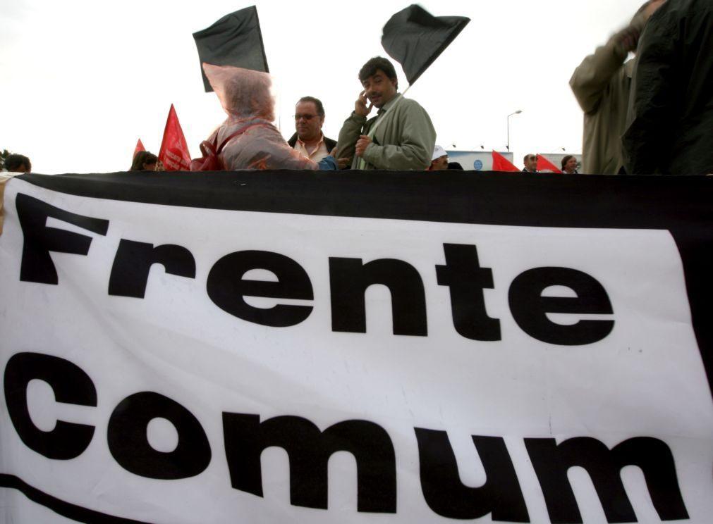 OE2021: Frente Comum avança hoje com manifestação nacional em Lisboa
