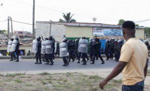 Polícia de Luanda nega responsabilidade na morte de manifestante