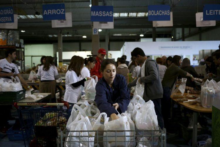 Banco Alimentar recolheu 2.129 toneladas de alimentos no fim de semana