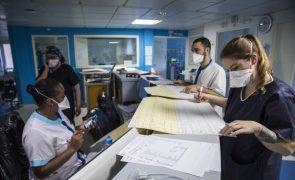 Covid-19: França regista 456 mortes devido ao vírus nas últimas 24 horas