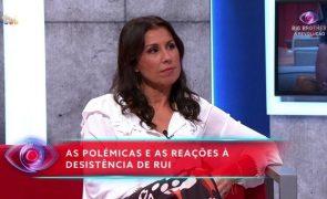 Marta Cardoso Comentadora pede desculpas em direto a Maria Botelho Moniz