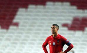 Portugal perde estatuto de totalista em fases finais da Liga das Nações desde 2000