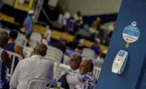 Covid-19: Brasil registou 921 mortes e 38.307 novos casos em 24 horas