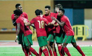 Portugal vence Chipre e qualifica-se para o Europeu de futebol de sub-21