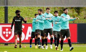 Portugal realiza único treino em Split antes do jogo com a Croácia