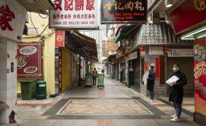 Covid-19: Governo de Macau prevê contração de 60,9% do PIB em 2020