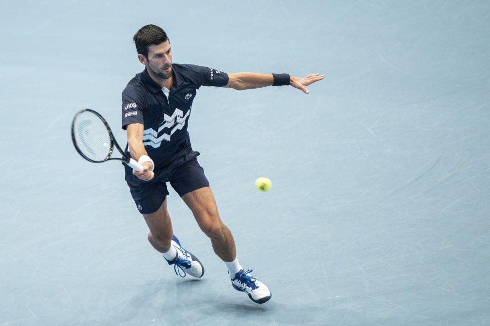 Dkojovic entra a vencer nas ATP Finals e já é o terceiro tenista mais vitorioso