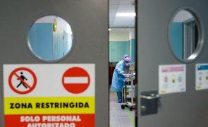 Covid-19: Espanha teve 38.273 casos no fim de semana e 484 óbitos