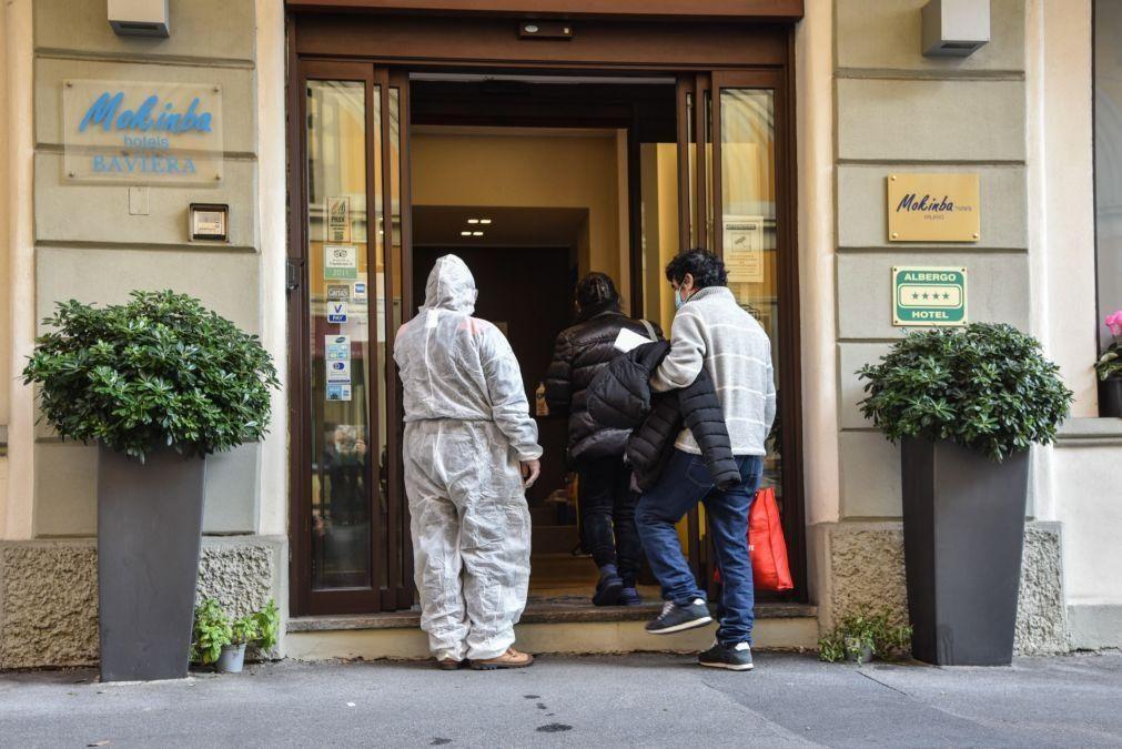 Covid-19: Itália regista 731 mortes e 32.191 novos casos