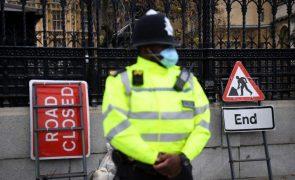 Covid-19: Reino Unido regista mais 598 mortes