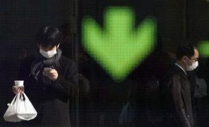 Bolsa de Tóquio fecha a perder 1,10%