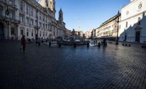 Covid-19: Itália regista 753 mortes em 24 horas, o pior número desde abril