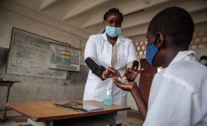 Covid-19: Angola com mais 104 infeções e quatro mortes nas últimas 24 horas