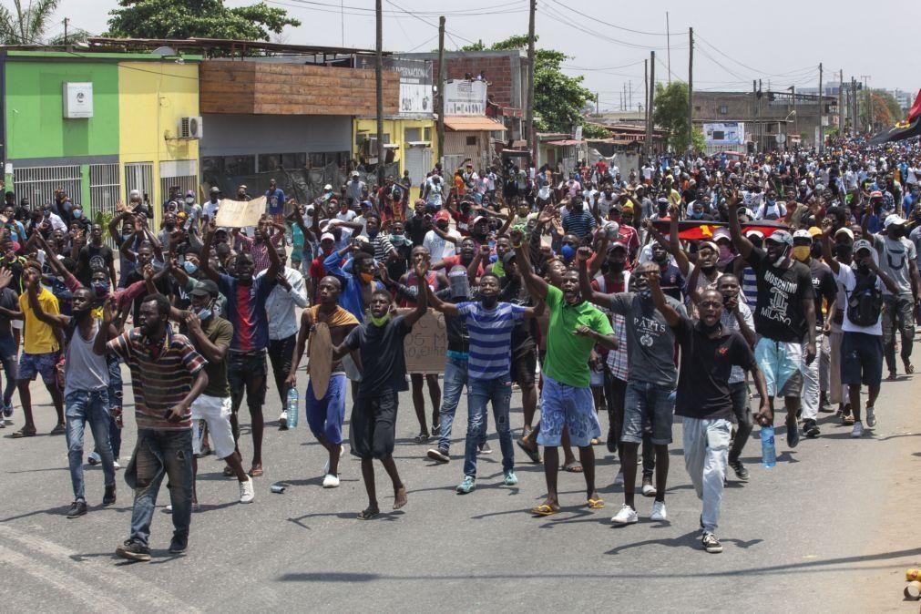 Promotores da manifestação de sábado pedem abertura de oito inquéritos à PGR angolana