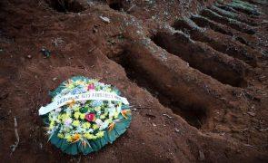 Covid-19: Pelo menos 1,350 milhões de mortos no mundo desde início da pandemia
