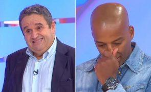 Assistente d' O Preço Certo chora ao falar sobre Fernando Mendes