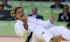 Telma Monteiro vice-campeã europeia de -57 kg