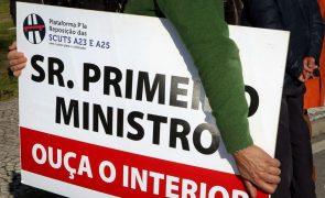 Guarda, Castelo Branco e Covilhã recebem hoje marcha lenta contra as portagens na A23 e A25