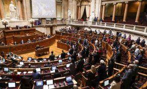 Covid-19: Parlamento debate e vota hoje renovação do estado de emergência
