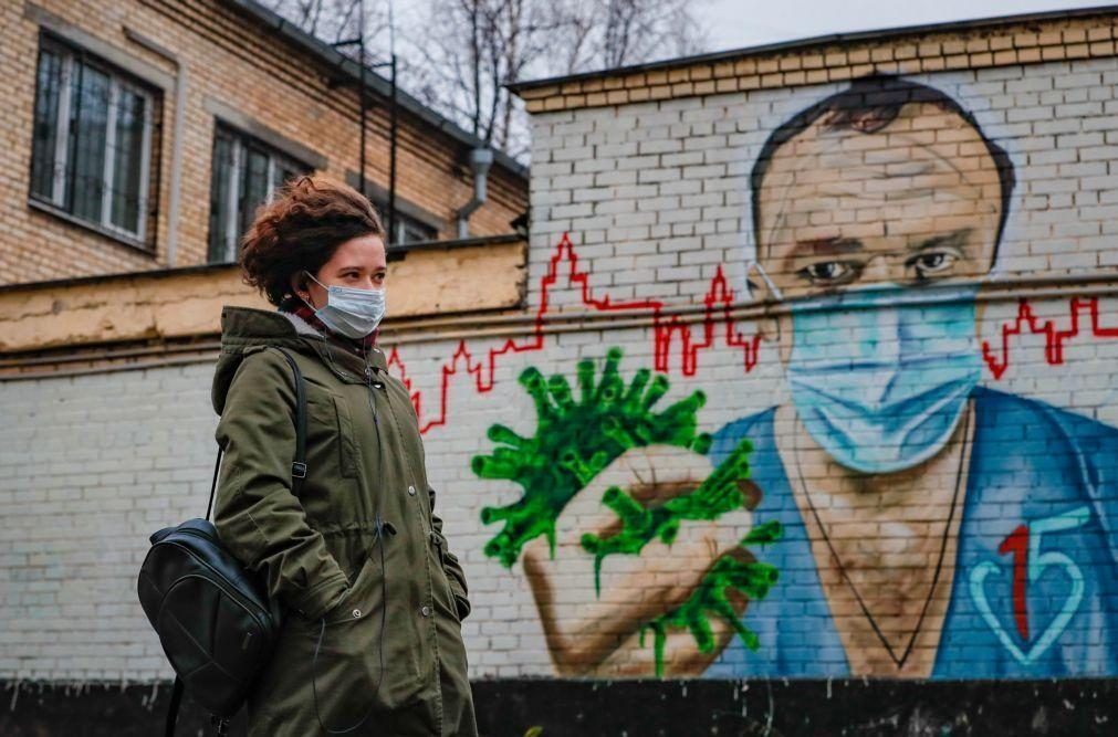 Covid-19: Rússia bate recorde de novas infeções com 24.318 casos em 24 horas