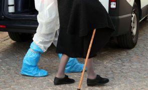 Covid-19: Lar do Calvário do Carvalhido no Porto tem 69 casos de infeção