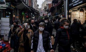 Covid-19: Recorde de mortes na Turquia e mais restrições para conter a pandemia