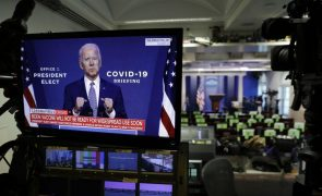 Covid-19: Biden pretende ajuda de emergência para combater pandemia