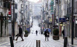 Covid-19: Recolher obrigatório a partir das 13:00 para mais de oito milhões de portugueses