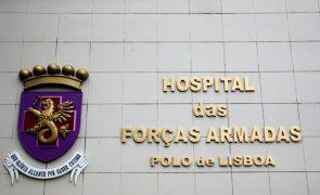 Covid-19: Hospital das Forças Armadas acolheu 122 doentes infetados desde outubro