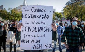 Covid-19: Cerca de mil empresários de restauração e hotelaria pedem apoios em Faro