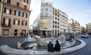 Covid-19: Itália com 692 mortos e quase 35 mil novas infeções nas últimas 24 horas