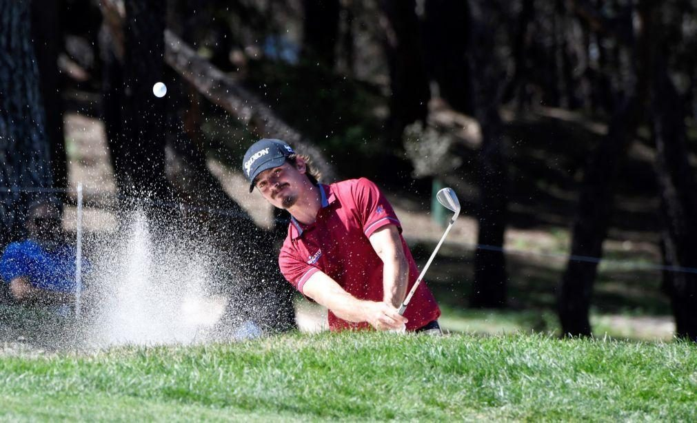 Pedro Figueiredo em 70.º no Joburg Open de golfe