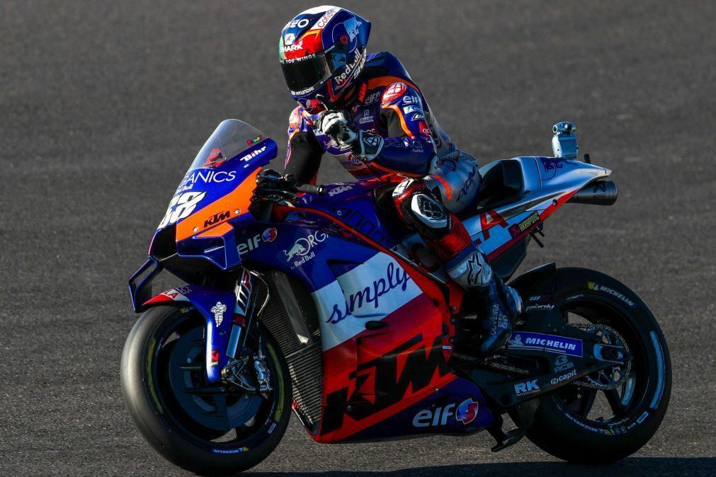 MotoGP/Portugal: Miguel Oliveira reconhece ter
