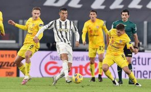 Ronaldo 'bisa' na vitória da Juventus sobre o Cagliari