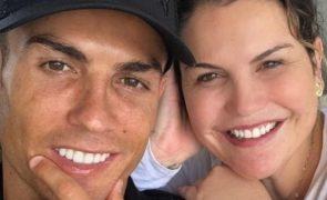 Katia Aveiro assinala aniversário de Ronaldo com carta em memória do pai