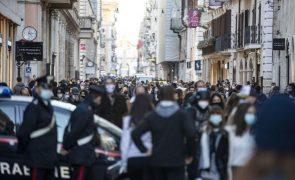 Covid-19: Itália regista mais 562 mortes e 28.337 novos casos