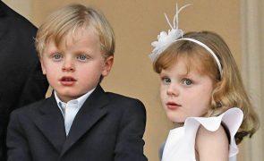 Charlene do Mónaco. As fotos divertidas e ternurentas dos gémeos Jacques e Gabriella a imitar o pai