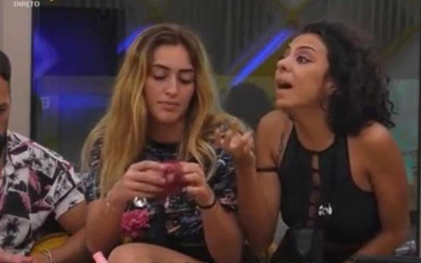 Grande discussão no Big Brother. Jéssica perde as estribeiras com Pedro e desata aos gritos