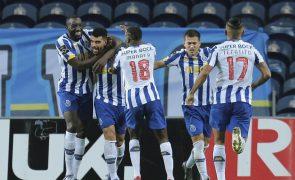 LC: FC Porto pode colocar-se a um escasso ponto dos 'oitavos'