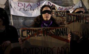 Trinta mulheres assassinadas até meados de novembro, metade por violência doméstica