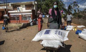 Moçambique/Ataques: PAM alerta para falta de verbas para apoiar deslocados