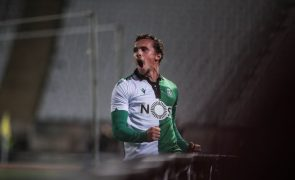 Sporting goleia Sacavenense e avança na Taça de Portugal