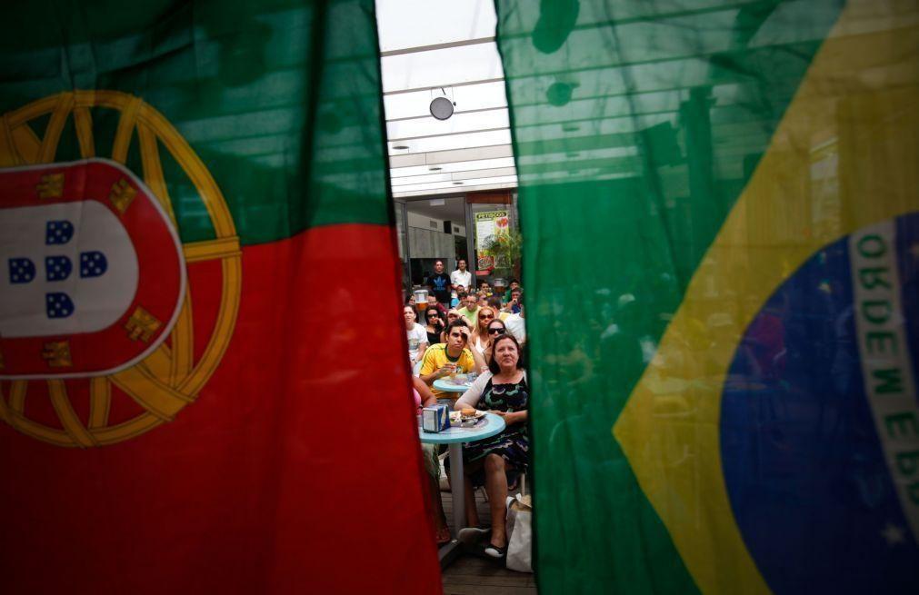 Governantes de Portugal homenageiam emigrantes nos 108 anos da Câmara de Comércio em São Paulo